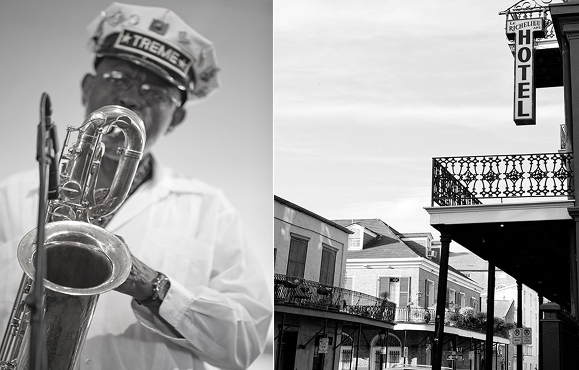 Treme Band Saxaphonist New Orleans