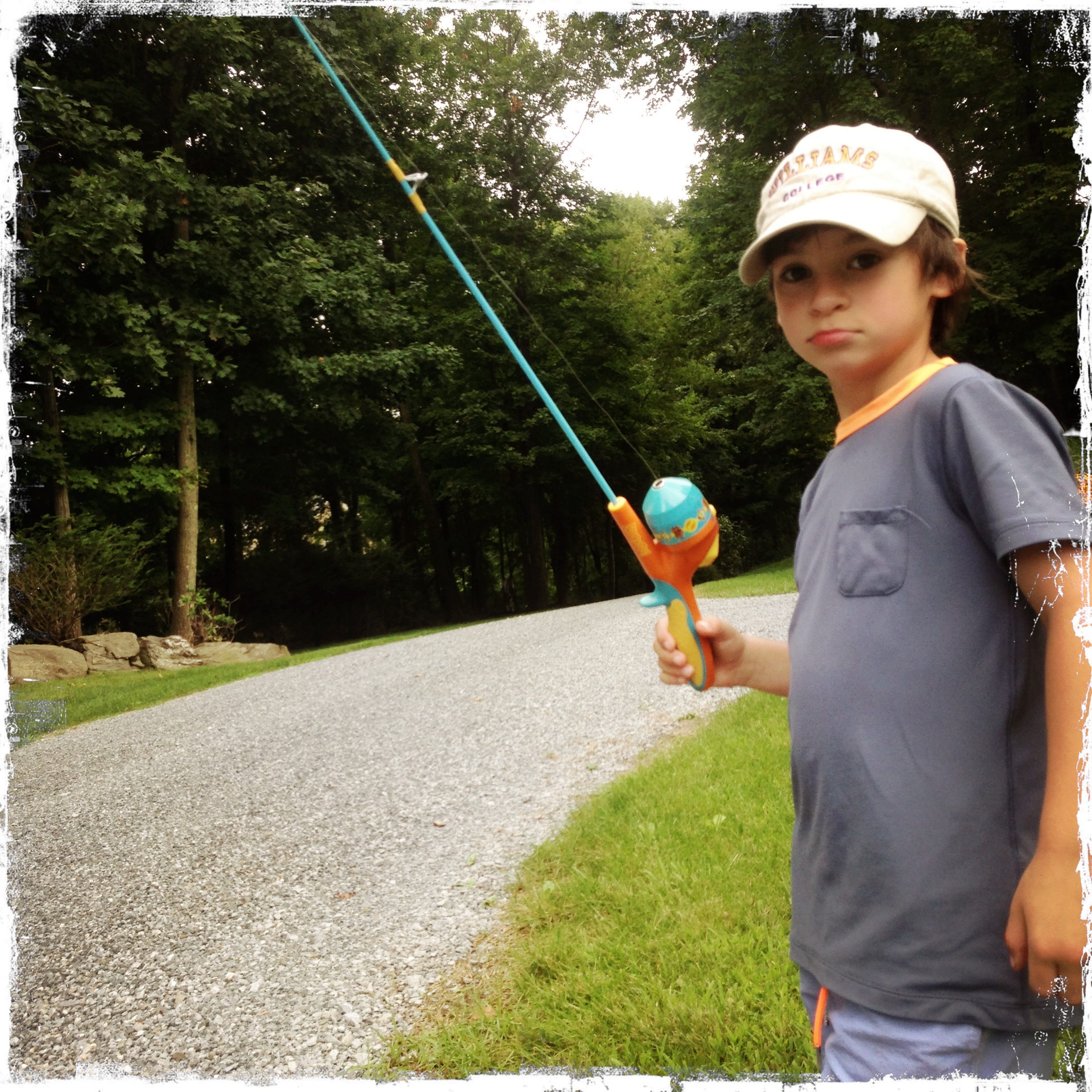 Boy Fishing Rod