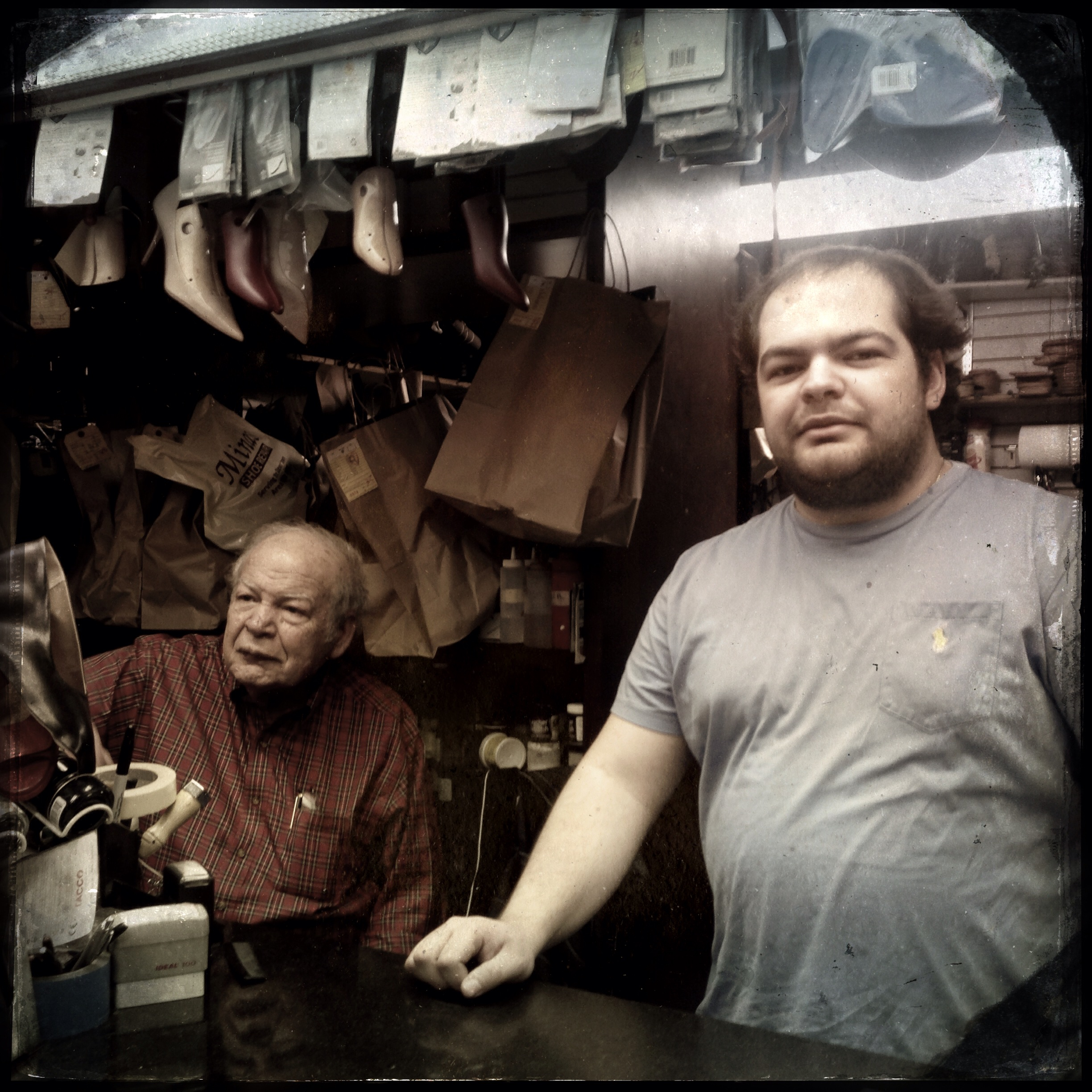 Minas and Minas Jr of Minas Shoe Repair