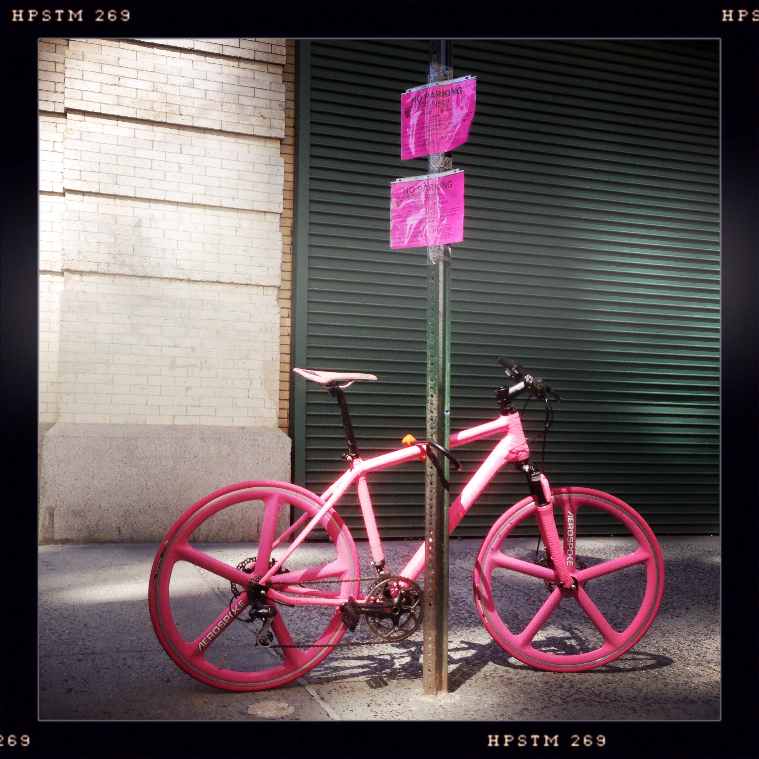 Pink Bike Flatiron District NYC