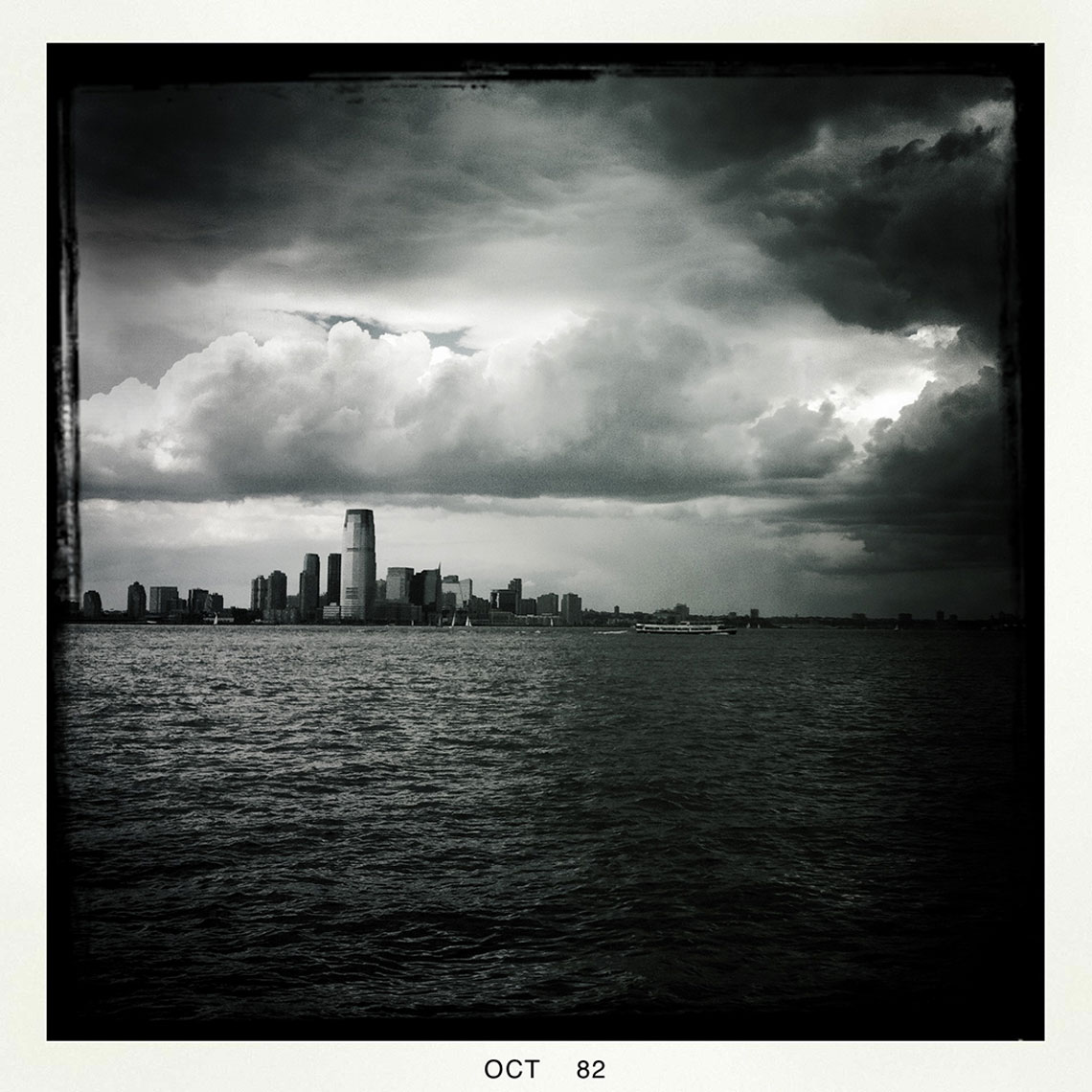 NYC Stormy Skyline