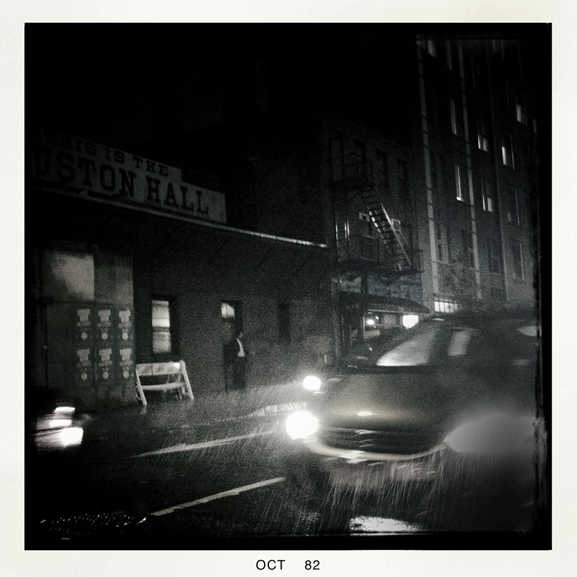 Rainy Night NYC