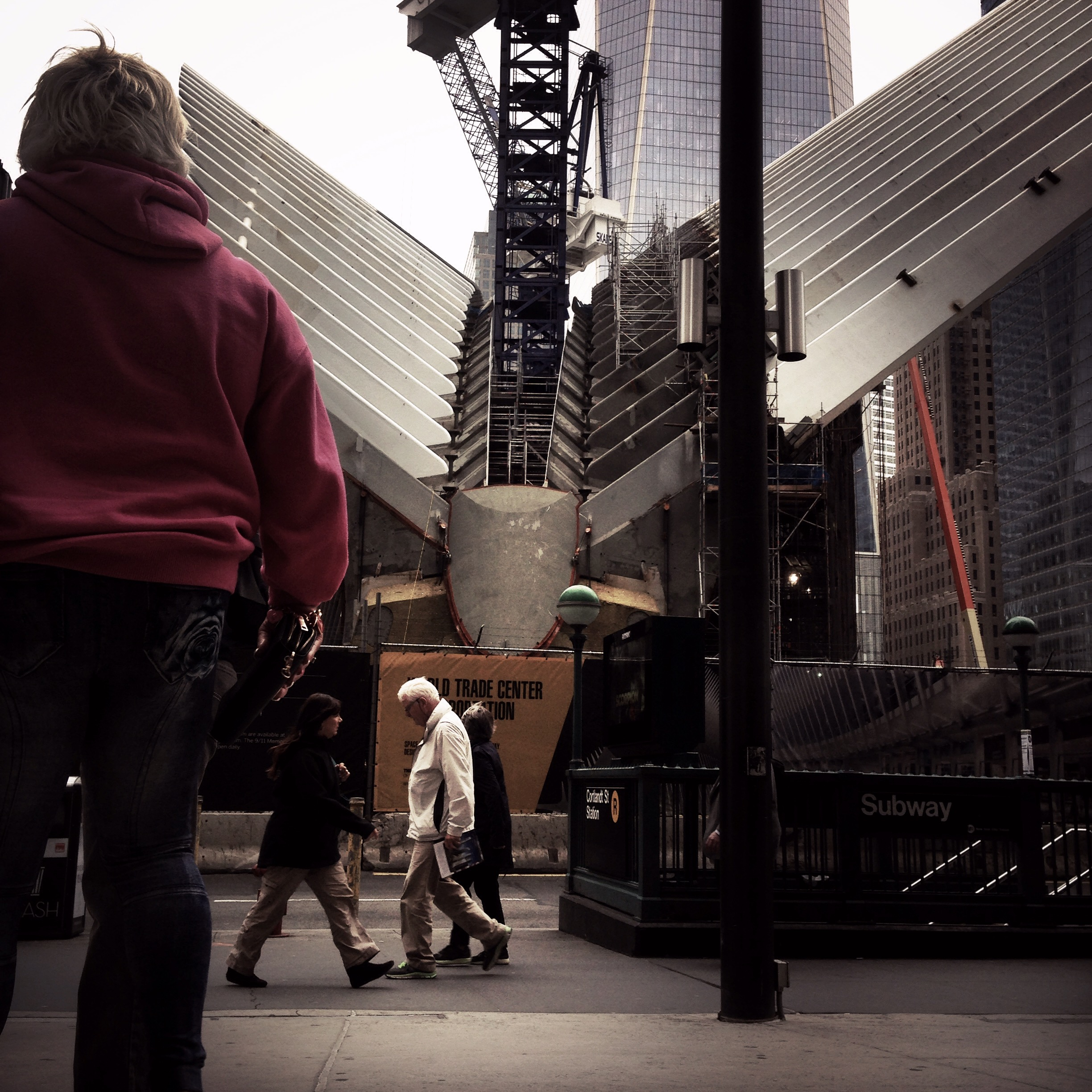 Street People World Trade Center