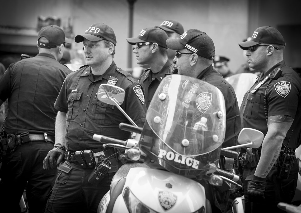 Occupy Wall Street gang of NYPD officers
