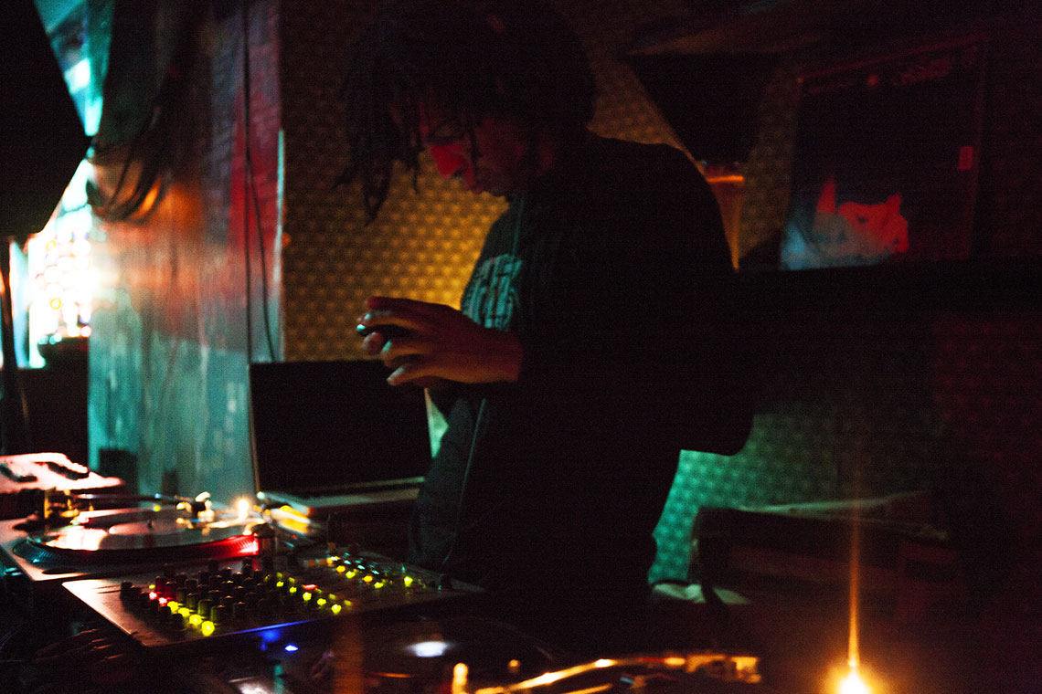 DJ at Nublu Club NYC